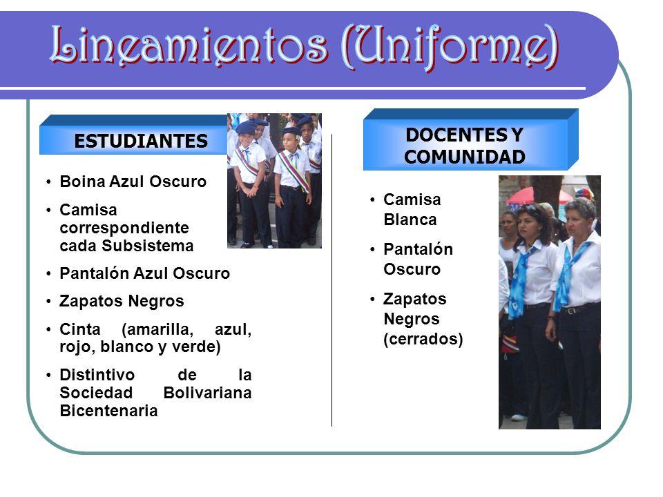 Lineamientos (Uniforme)