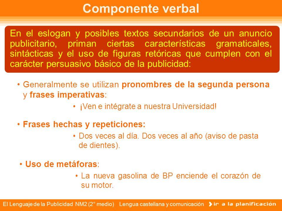 Componente verbal