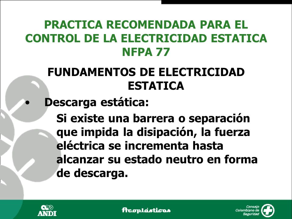 FUNDAMENTOS DE ELECTRICIDAD ESTATICA