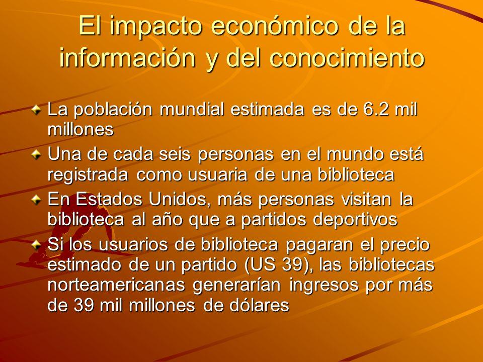 El impacto económico de la información y del conocimiento