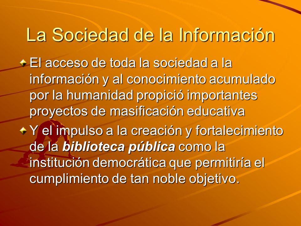 La Sociedad de la Información