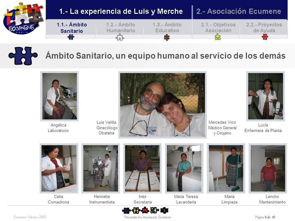Ámbito Sanitario, un equipo humano al servicio de los demás