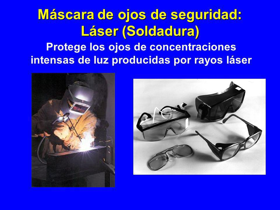 Máscara de ojos de seguridad: Láser (Soldadura)