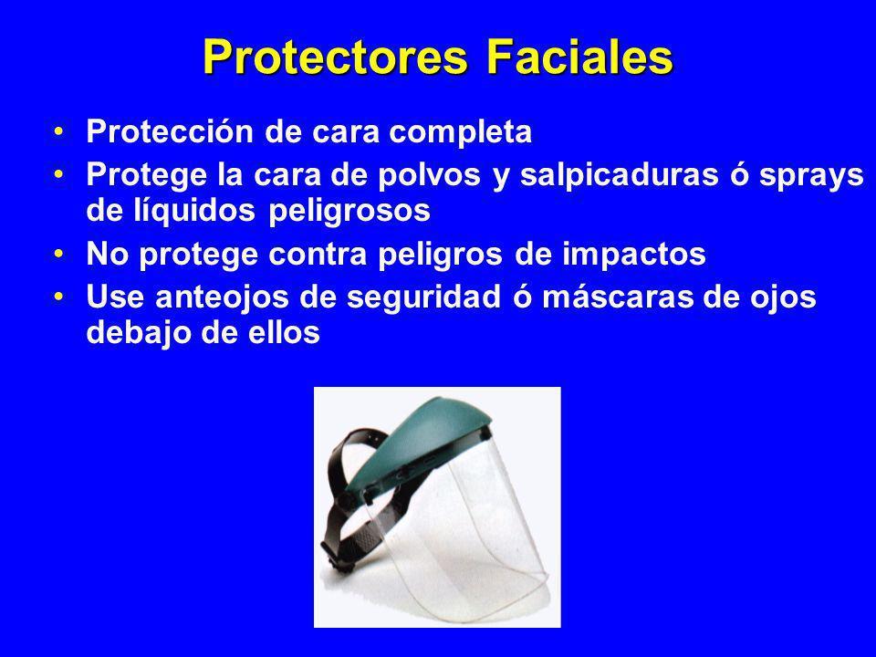 Protectores Faciales Protección de cara completa