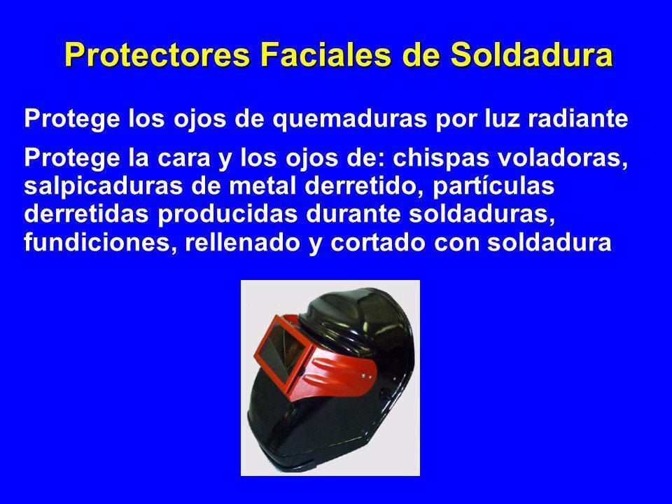 Protectores Faciales de Soldadura