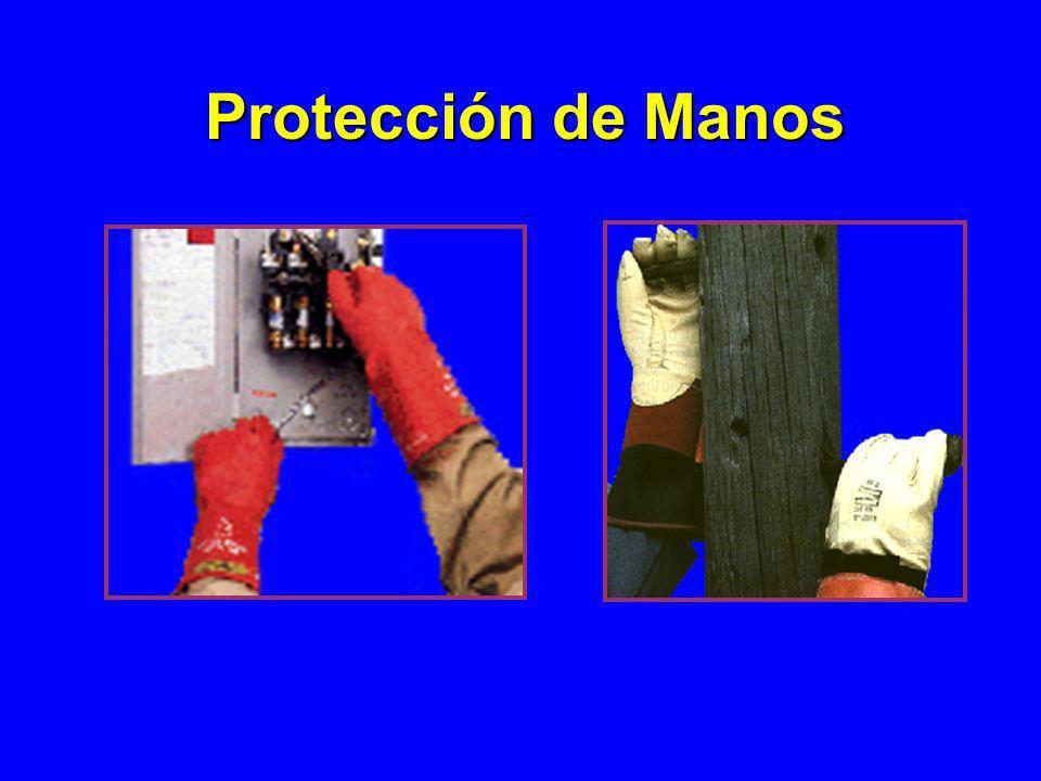 Protección de Manos 1926.100.