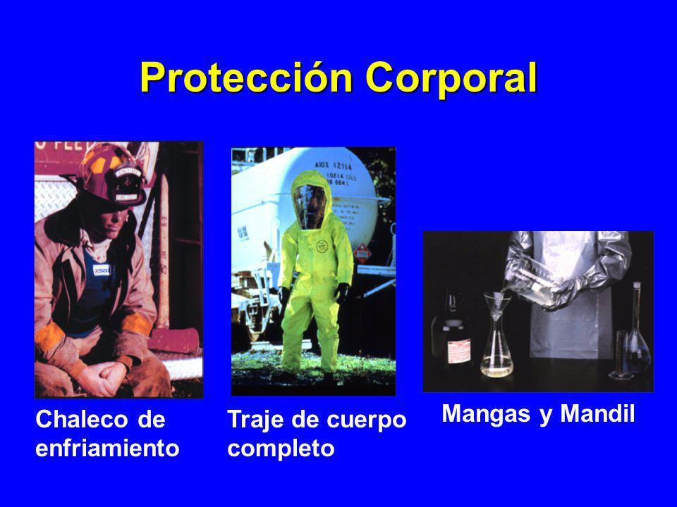 Protección Corporal Mangas y Mandil Chaleco de enfriamiento