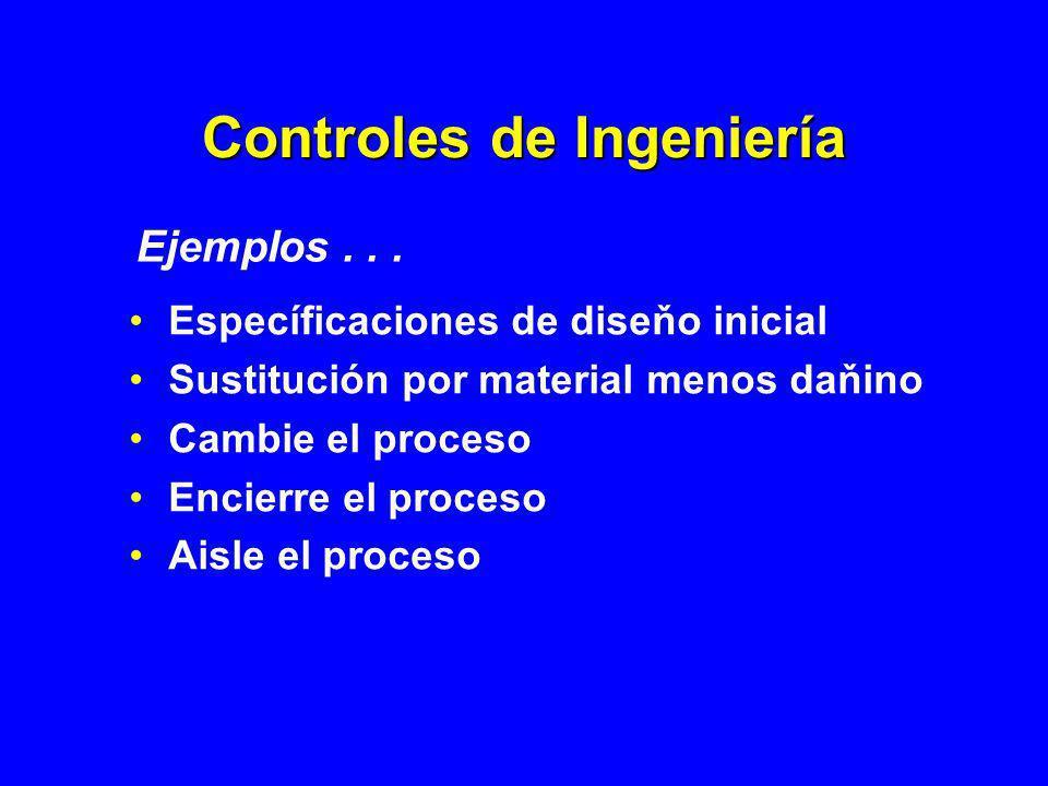 Controles de Ingeniería