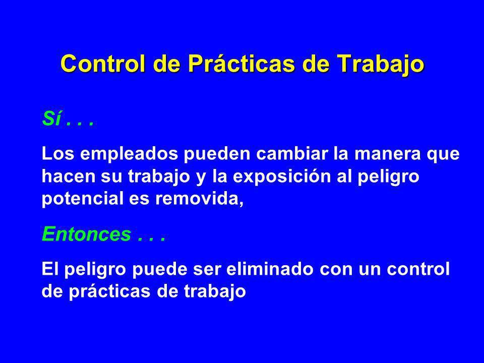 Control de Prácticas de Trabajo