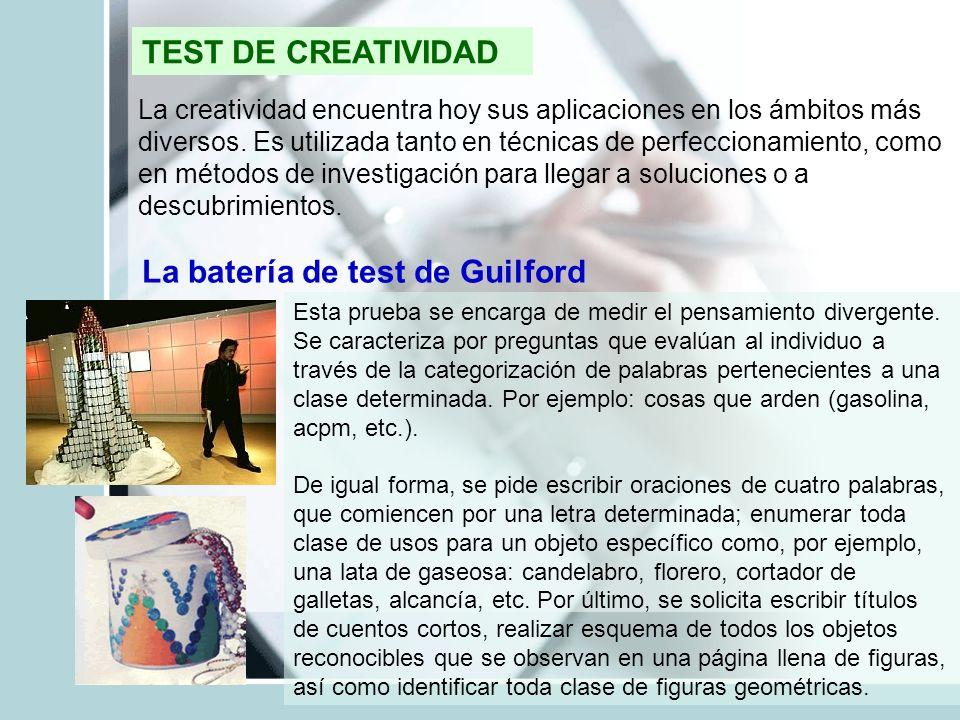 La batería de test de Guilford