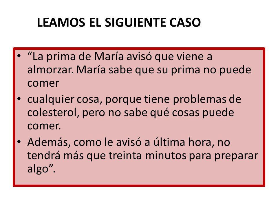 LEAMOS EL SIGUIENTE CASO