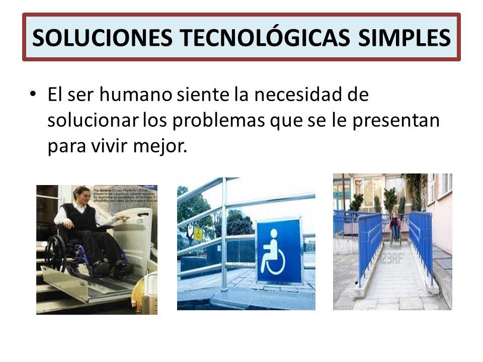 SOLUCIONES TECNOLÓGICAS SIMPLES