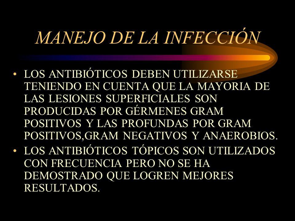 MANEJO DE LA INFECCIÓN