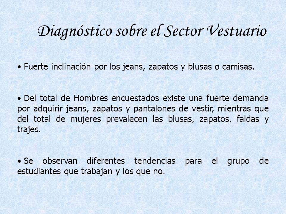 Diagnóstico sobre el Sector Vestuario