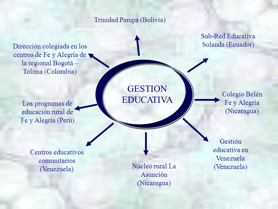 GESTION EDUCATIVA Trinidad Pampa (Bolivia)