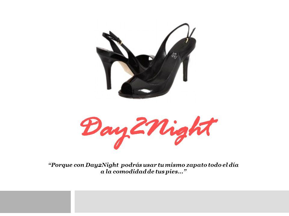 Day2Night Porque con Day2Night podrás usar tu mismo zapato todo el día a la comodidad de tus pies…