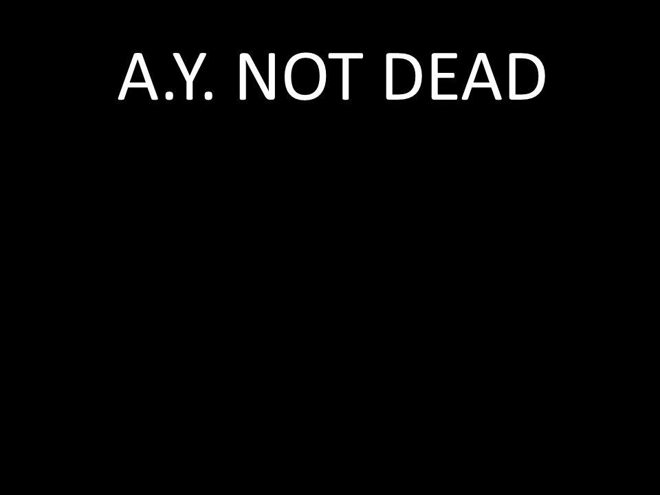 A.Y. NOT DEAD