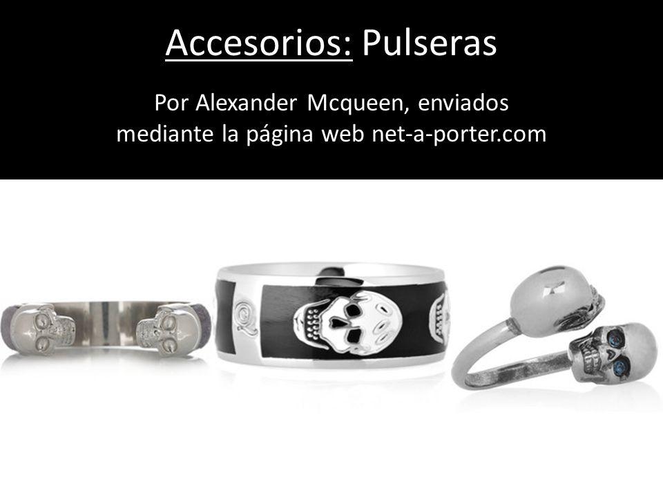 Accesorios: Pulseras Por Alexander Mcqueen, enviados mediante la página web net-a-porter.com