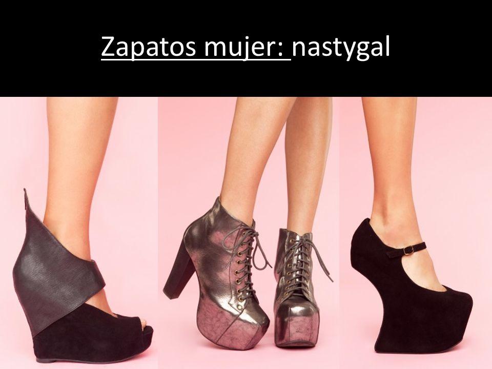 Zapatos mujer: nastygal