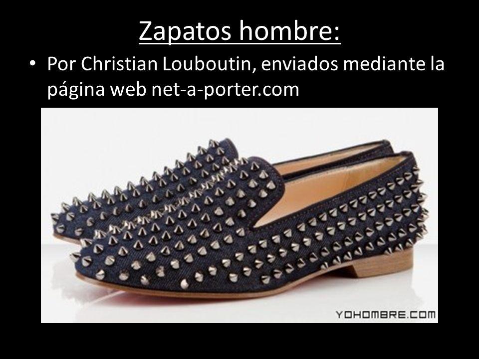Zapatos hombre: Por Christian Louboutin, enviados mediante la página web net-a-porter.com