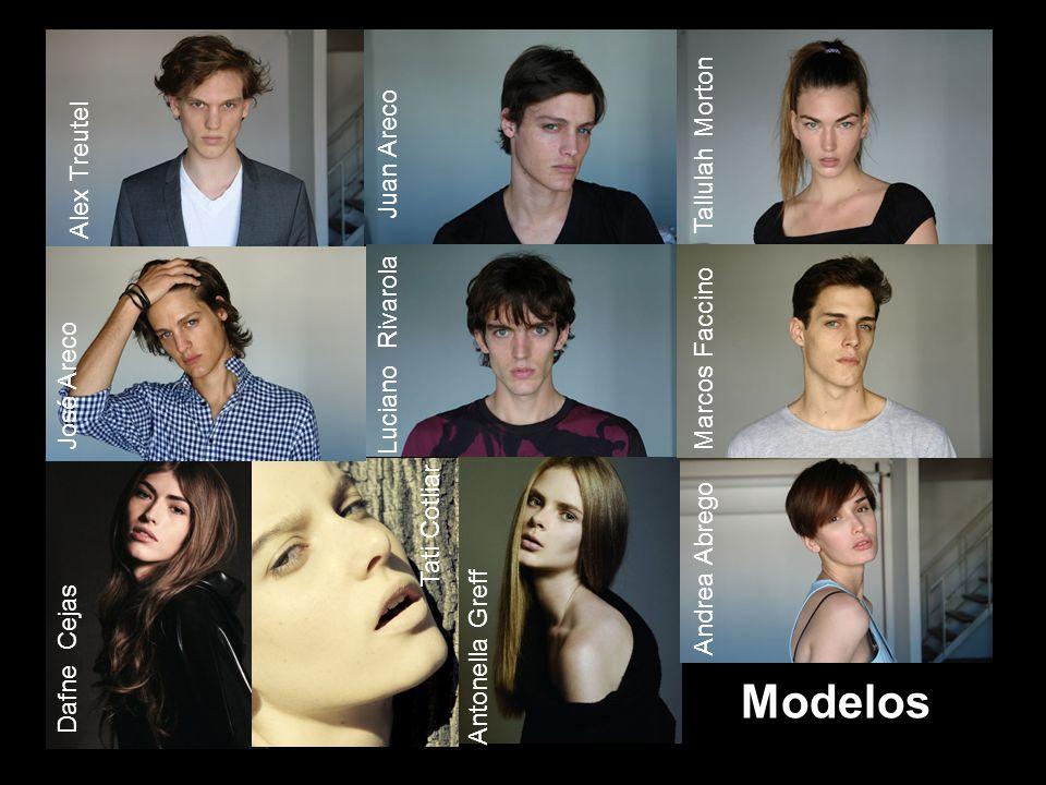Modelos Alex Treutel Tallulah Morton Juan Areco Marcos Faccino