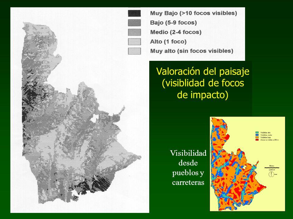 Valoración del paisaje