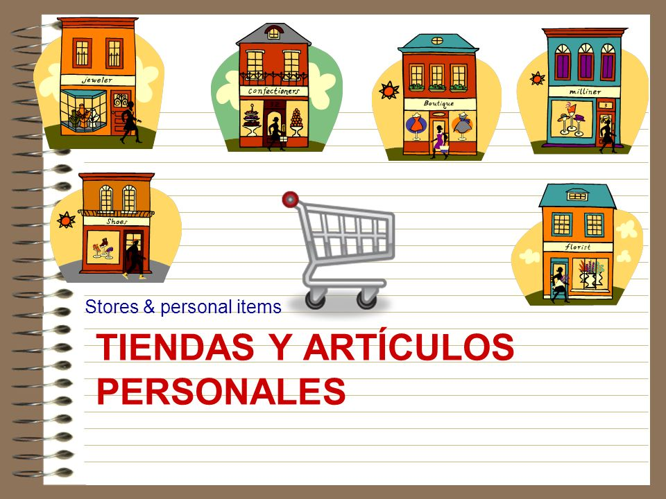 Tiendas y artículos personales