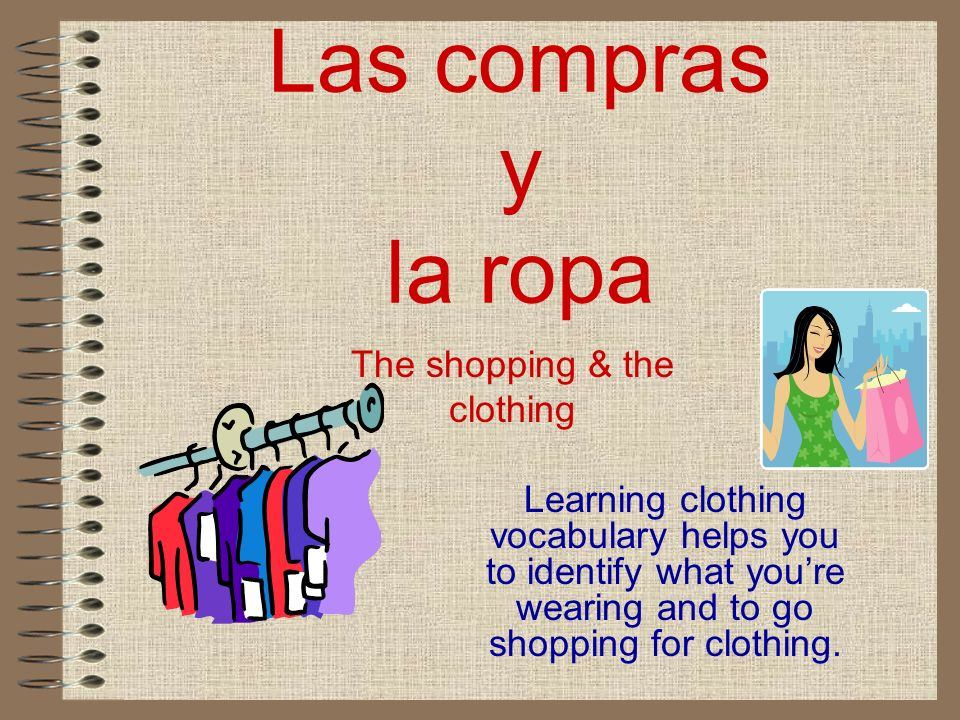 The shopping & the clothing