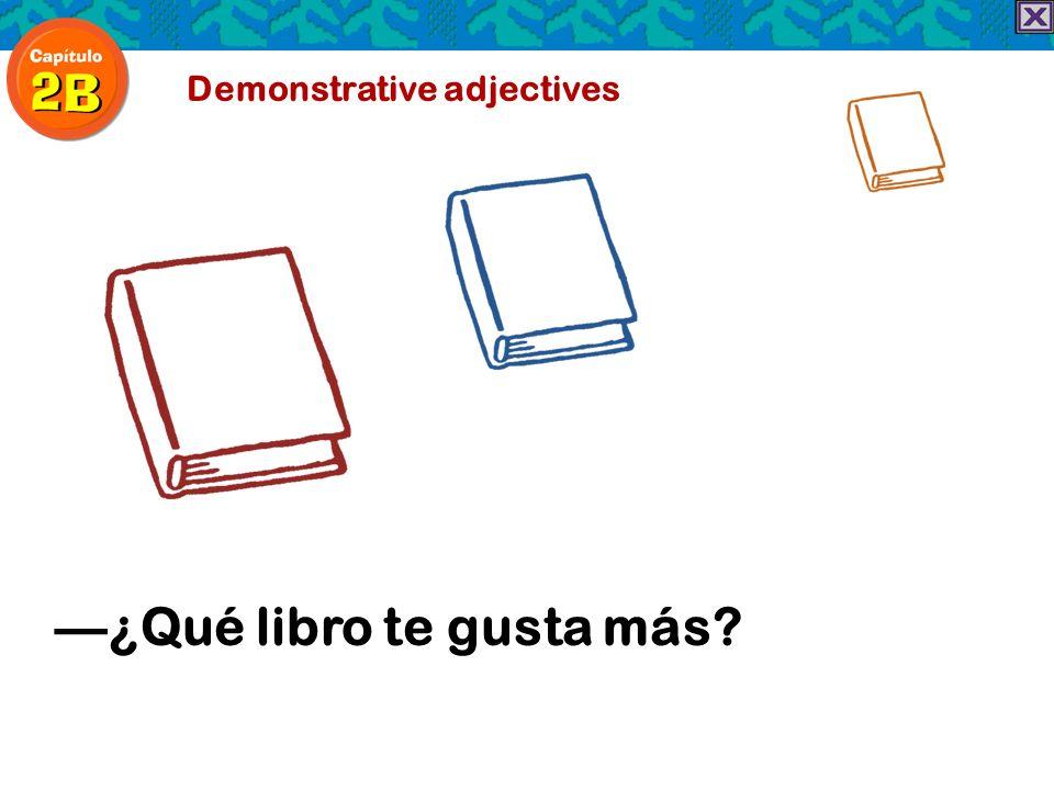—¿Qué libro te gusta más