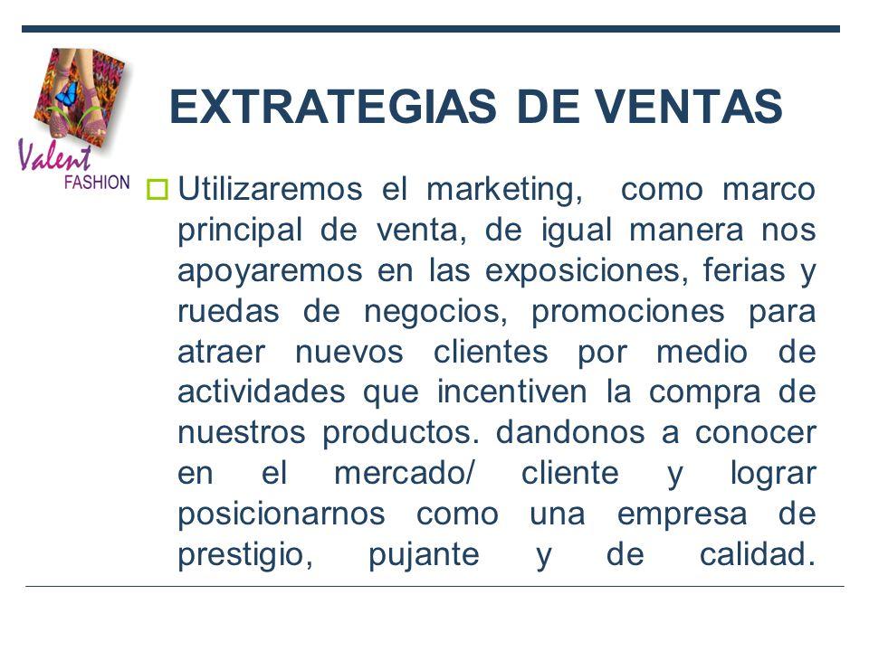 EXTRATEGIAS DE VENTAS