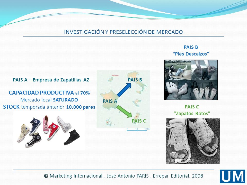 PAIS A – Empresa de Zapatillas AZ