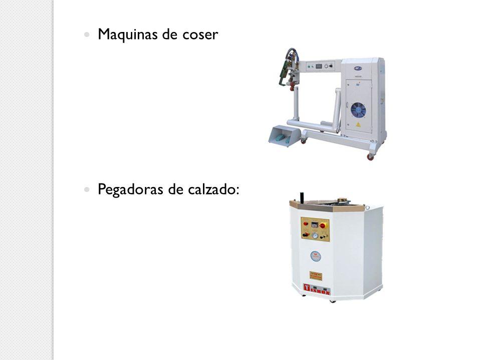 Maquinas de coser Pegadoras de calzado: