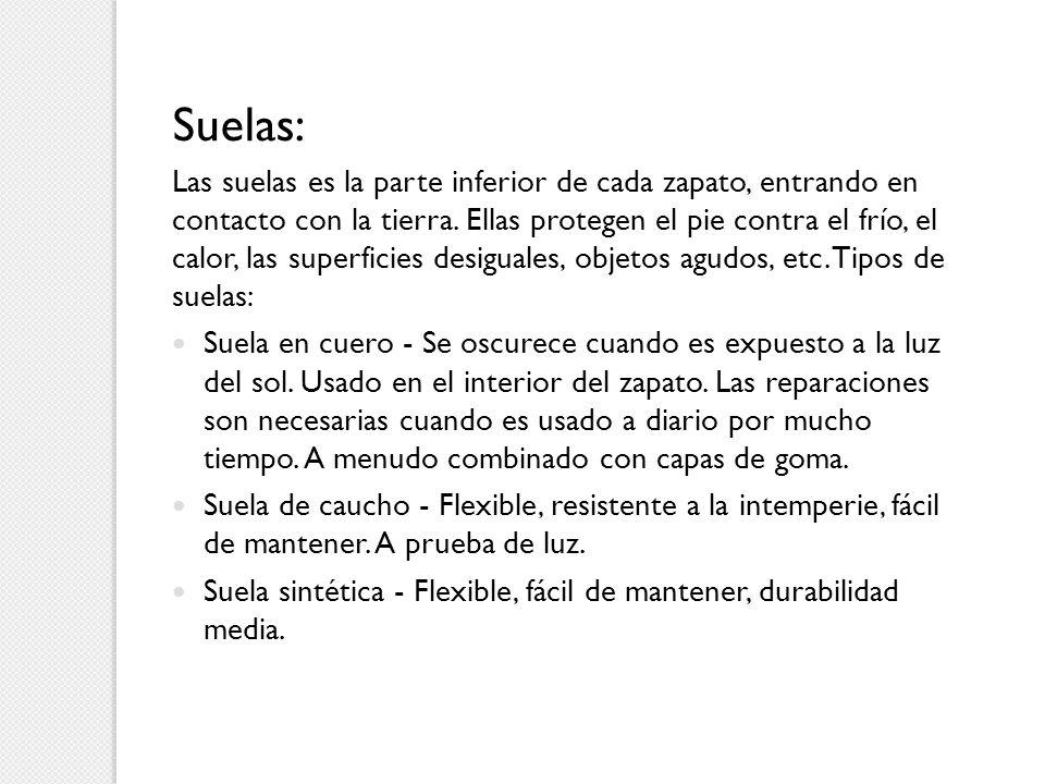 Suelas: