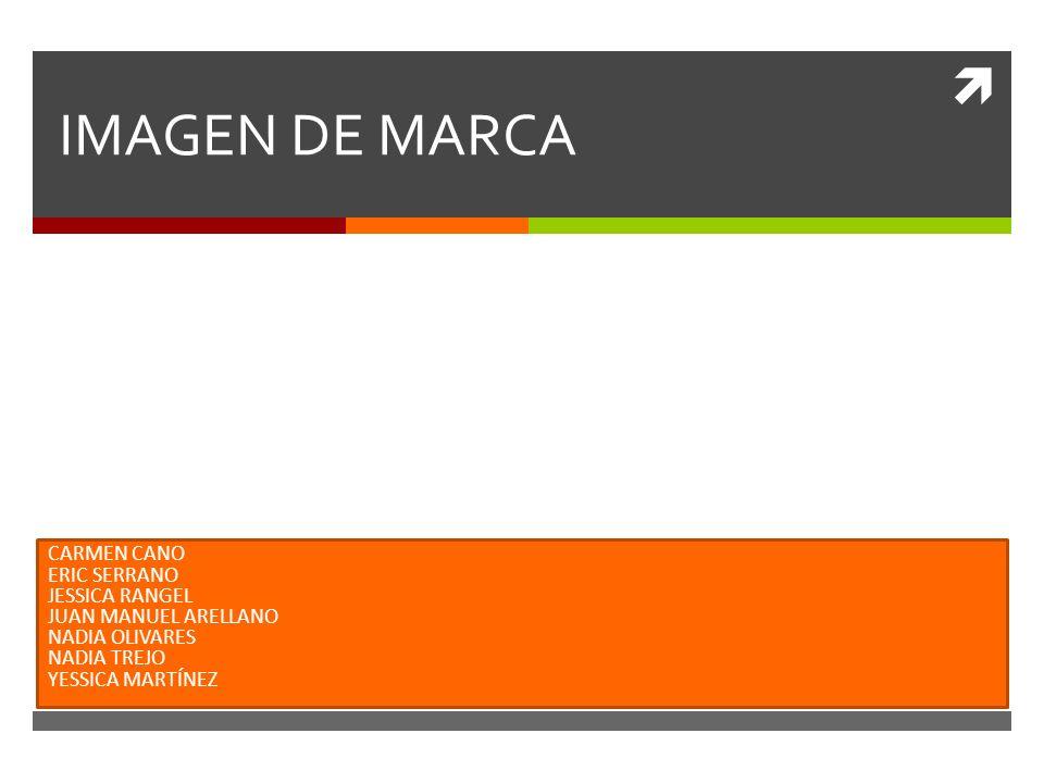 IMAGEN DE MARCA CARMEN CANO ERIC SERRANO JESSICA RANGEL
