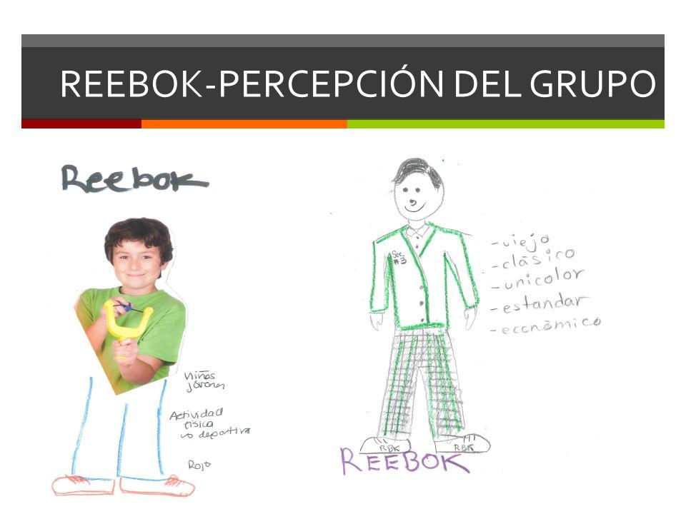 REEBOK-PERCEPCIÓN DEL GRUPO
