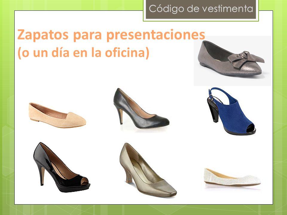 Zapatos para presentaciones (o un día en la oficina)
