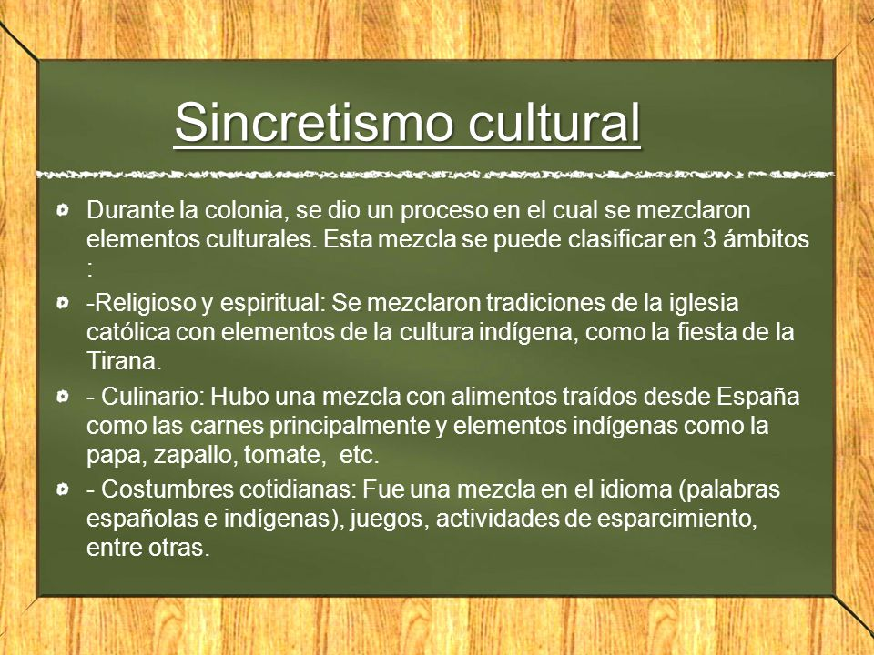 Sincretismo cultural