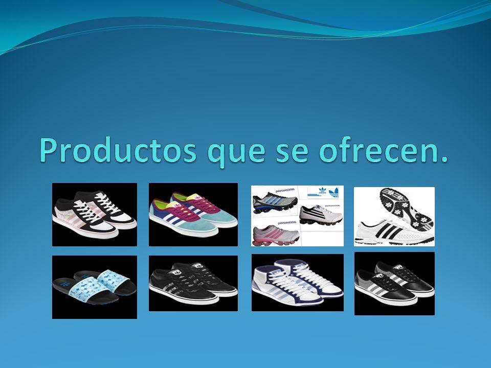 Productos que se ofrecen.