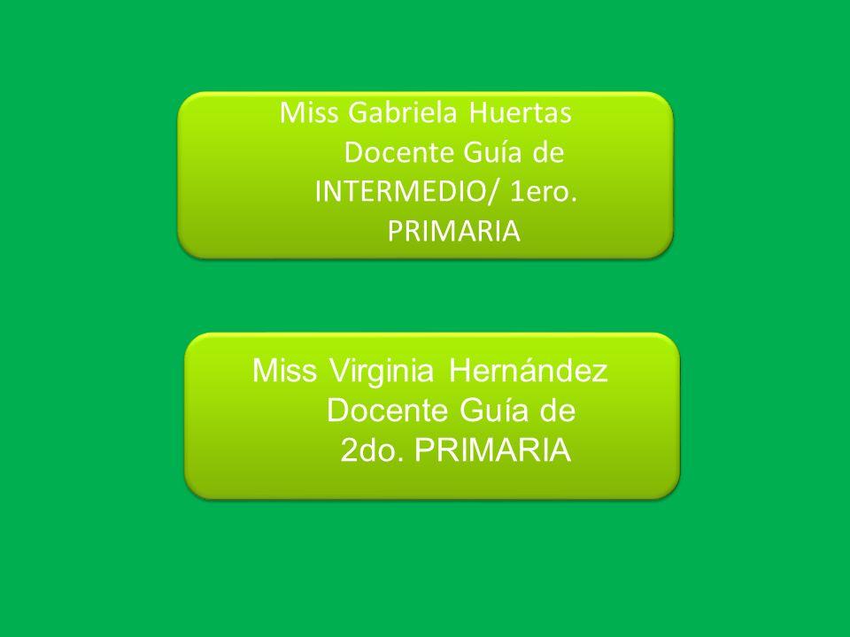 Docente Guía de INTERMEDIO/ 1ero. PRIMARIA