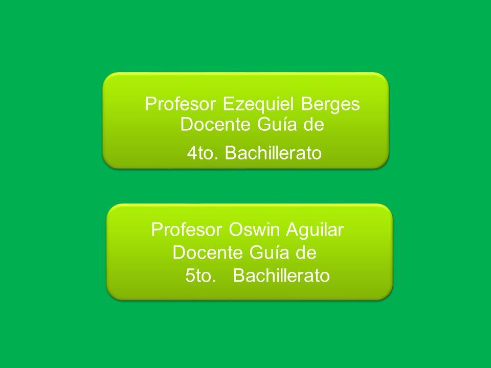 Profesor Ezequiel Berges Docente Guía de 4to. Bachillerato