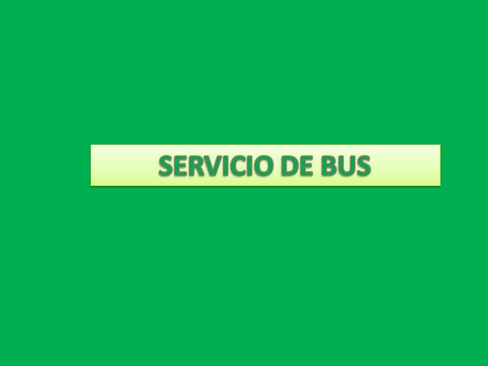 SERVICIO DE BUS