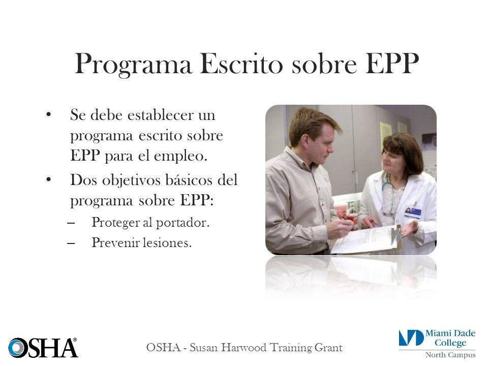 Programa Escrito sobre EPP