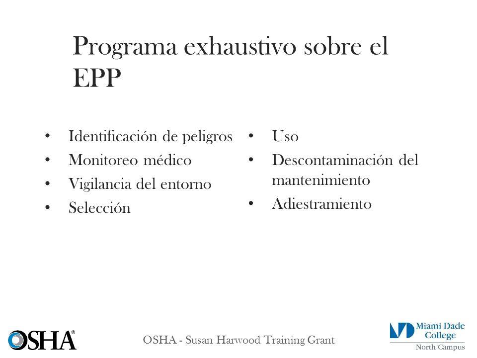Programa exhaustivo sobre el EPP