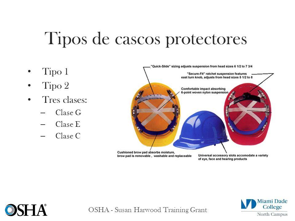 Tipos de cascos protectores
