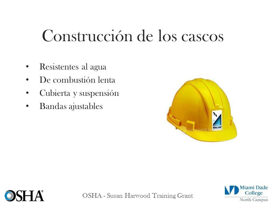 Construcción de los cascos