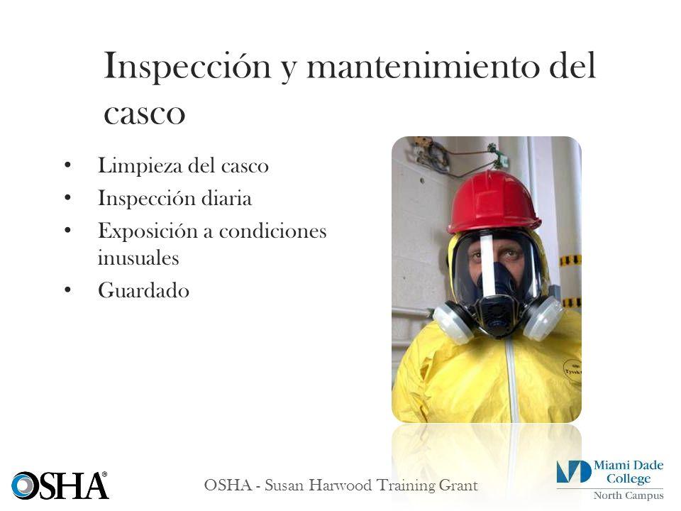 Inspección y mantenimiento del casco