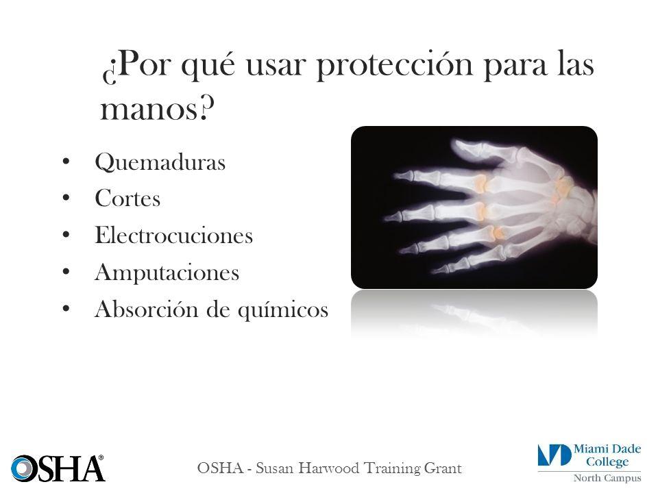 ¿Por qué usar protección para las manos