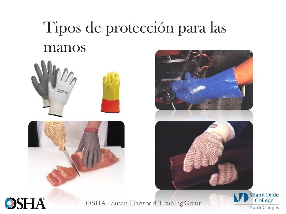 Tipos de protección para las manos
