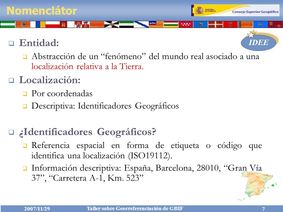 ¿Identificadores Geográficos