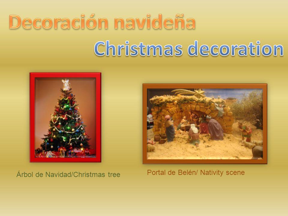 Decoración navideña Christmas decoration